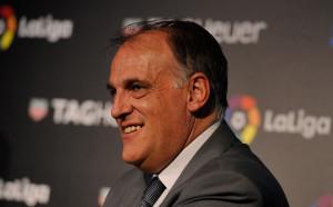 Шефът на Ла Лига: По-добре е да няма шпалир
