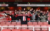 Фенклубът на Арсенал в България се разраства