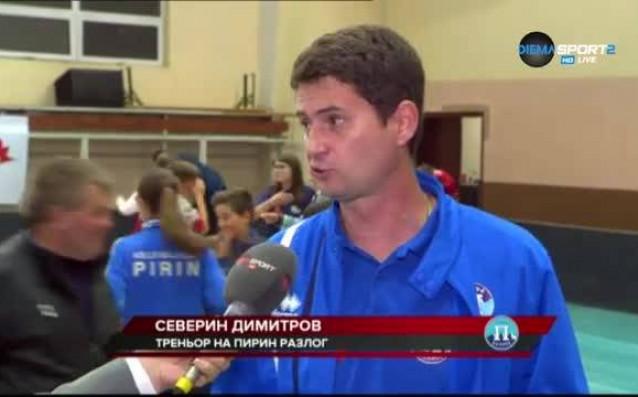 Старши треньорът на волейболния Северин Димитров определи успеха над ЦСКА
