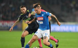 Суша в битката на върха в Серия А, край на серията на Наполи