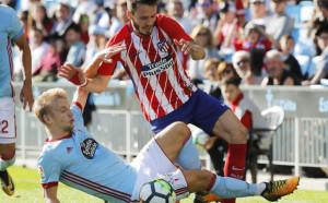 Атлетико Мадрид изкопчи успеха над Селта