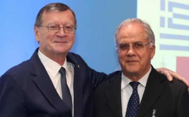 Александър Боричич и Данчо Лазаров /вдясно/<strong> източник: bgvolleyball.com</strong>