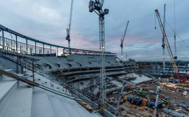 Новият стадион на Тотнъм погълна нови 100 млн. паунда