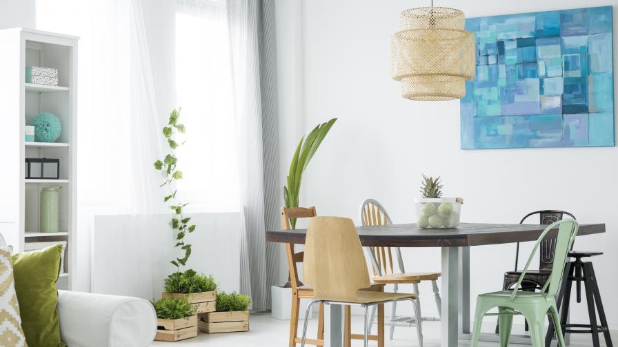 Как да преобразим интериора вкъщи в 6 лесни стъпки