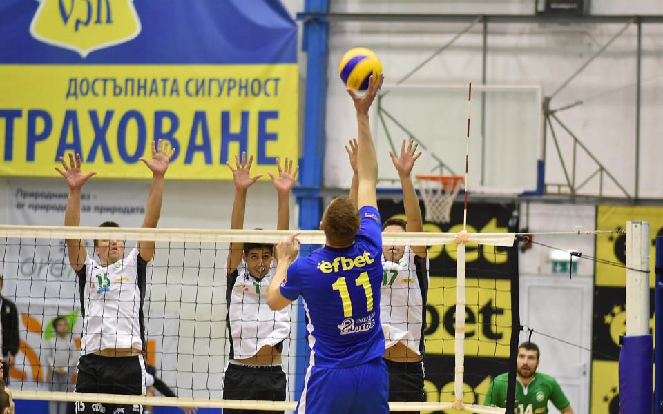 Обявиха часовете на мачовете за Купата на България по волейбол