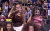 Страховитите мажоретки на Барса в духа на Хелоуин