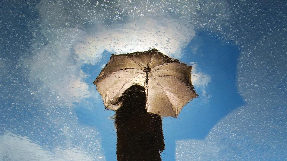 чадър дъжд