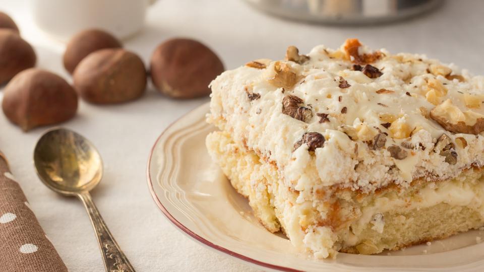 Бисквитена торта с маскарпоне и шоколад
