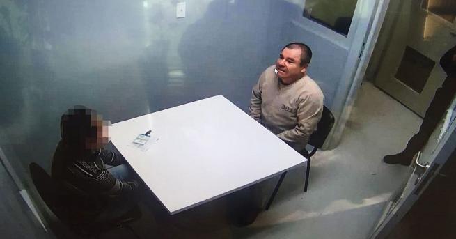 Снимка: Слухови халюцинации мъчат нарокобарона Ел Чапо в нюйоркски затвор