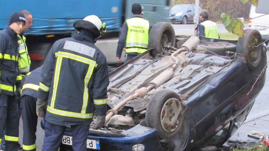 Жестока катастрофа край Русе стана верижна с патрулка