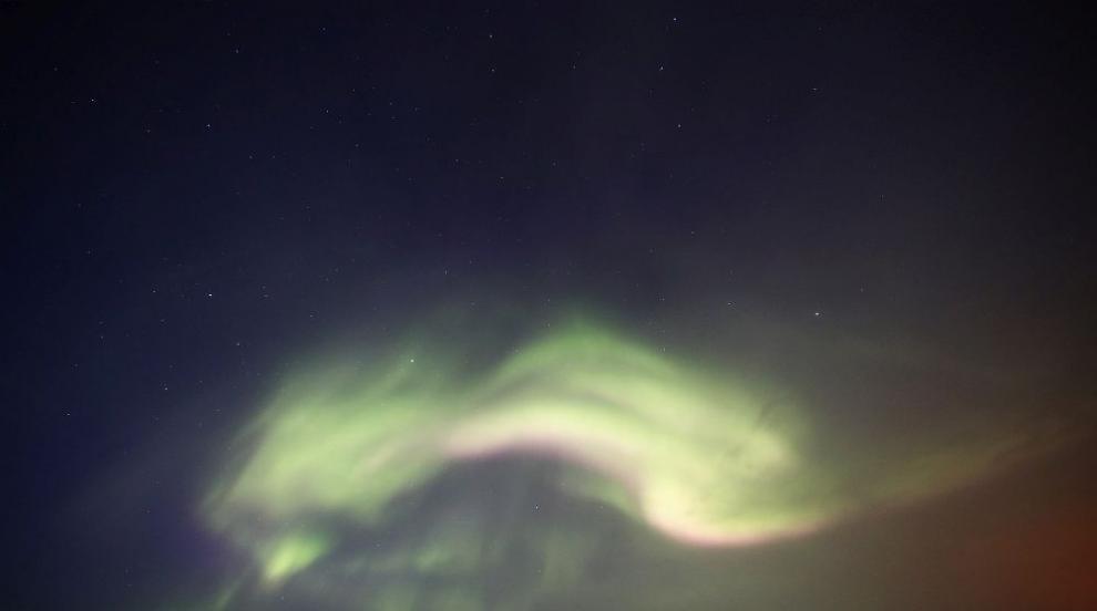 Снимка запечата Северното сияние от Космоса (СНИМКА)
