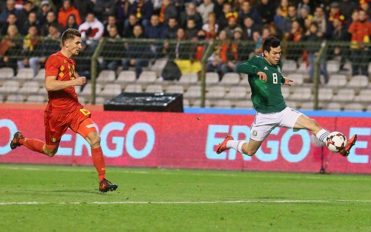 Белгия и Мексико завихриха чудна голова престрелка
