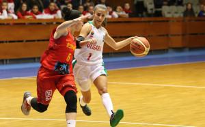 Украйна би България с 50 точки разлика на баскет