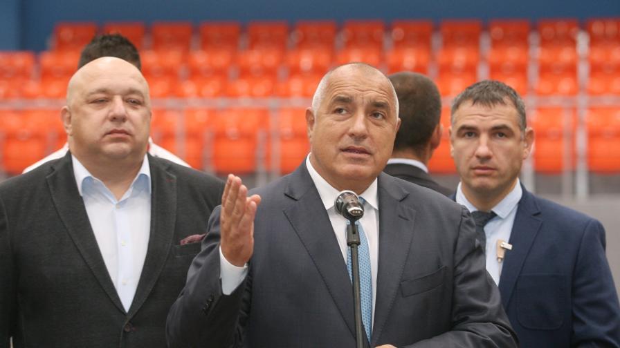 Премиерът Борисов: Е, това са политически поръчки
