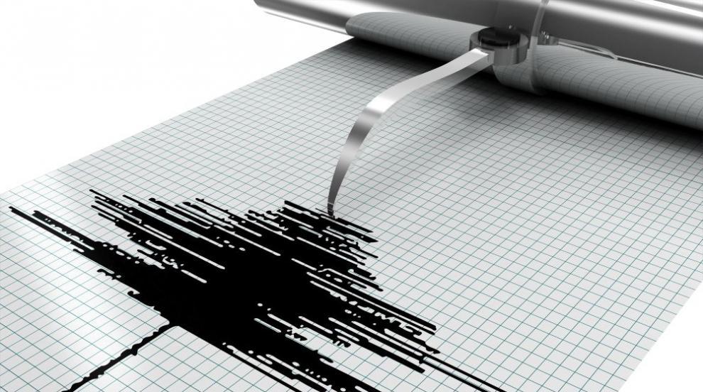 Земетресение с магнитуд 3,5 по Рихтер е регистрирано в Белица