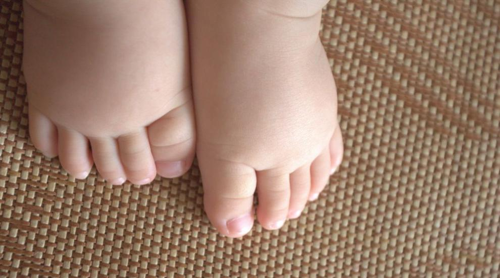 Най-пухкавото бебе в света тежи колкото 9-годишно дете (СНИМКИ)