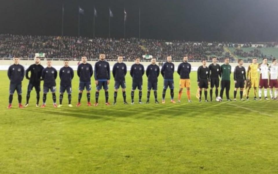 Гол в последната минута носи първи успех на Косово след 9 поражения
