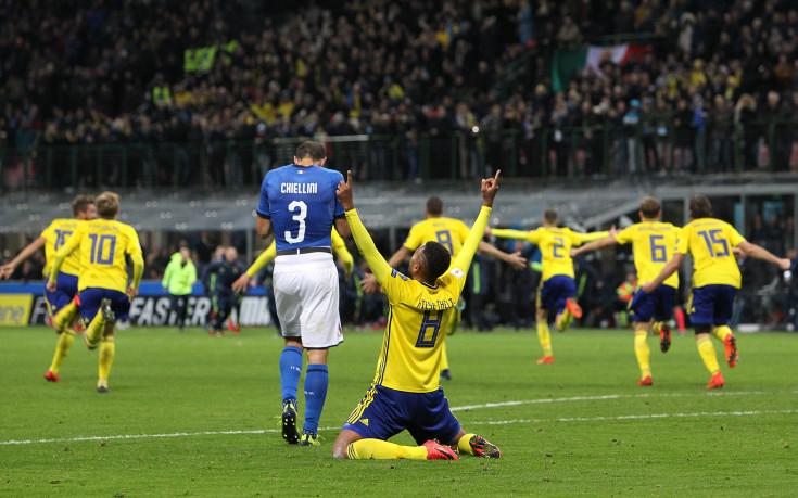 Аривидерчи: Италия аут от Световното, отива Швеция