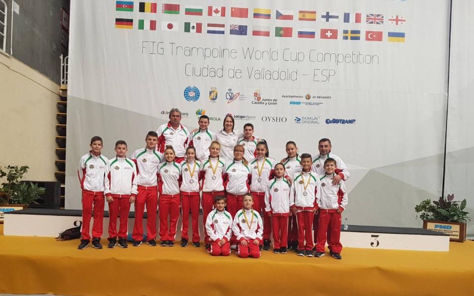България с 15 състезатели на световното първенство по скокове на батут