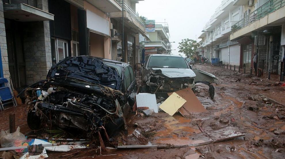 Трагедия в Гърция след наводненията: Жертвите се увеличават, обявиха ден...