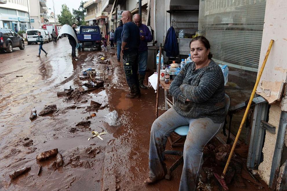 потоп Гърция