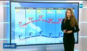 Прогноза за времето (20.11.2017 - централна емисия)