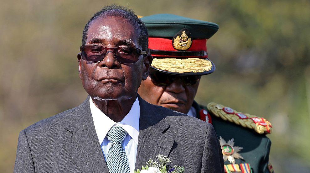 Погребаха бившия президент на Зимбабве (СНИМКИ)