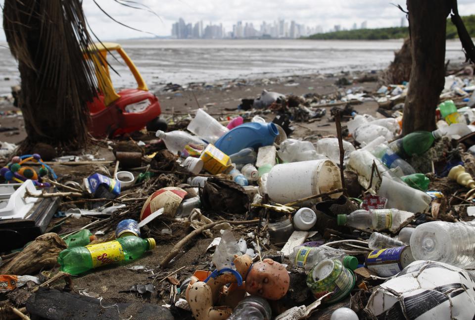 замърсен океан