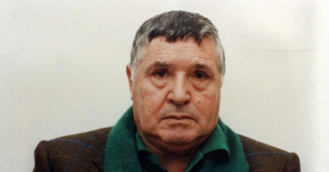 Тото Риина, бившият бос на сицилианската мафия, който почина миналата