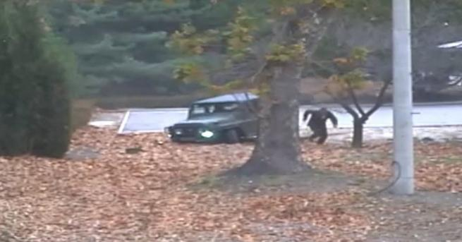 ООН публикува видео, на което е заснето бягството на севернокорейски