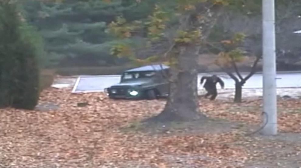 ООН показа видео от бягството на севернокорейски войник