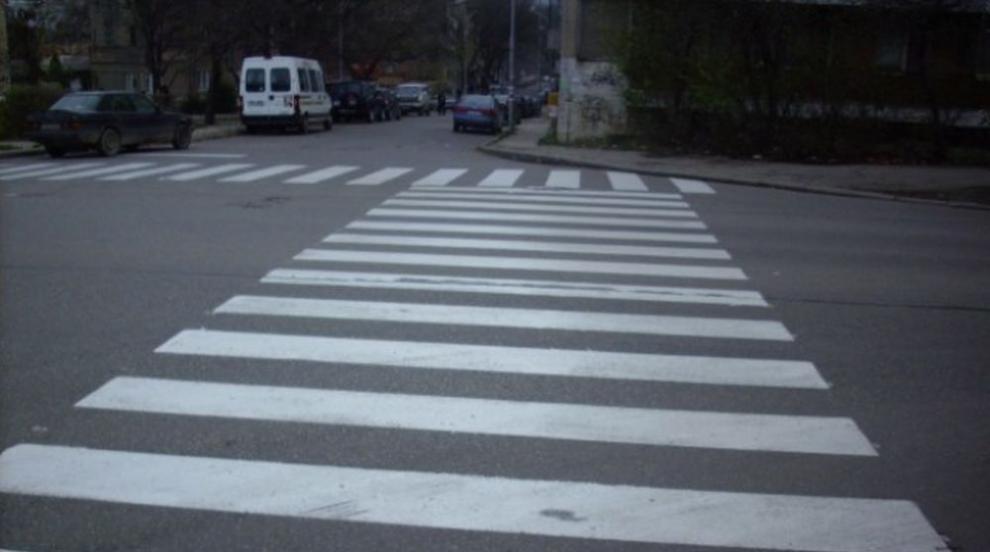 Над половината пешеходни пътеки с дефекти и дефицити