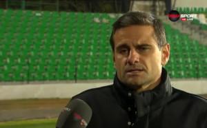 Луканов: Трудно е за обяснение, цял мач играхме на една врата