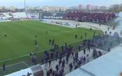 Делегатът на БФС: Феновете на ЦСКА нахлуха първи на терена