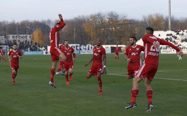 Снимка: ЦСКА взе три точки в Пловдив след драматични събития