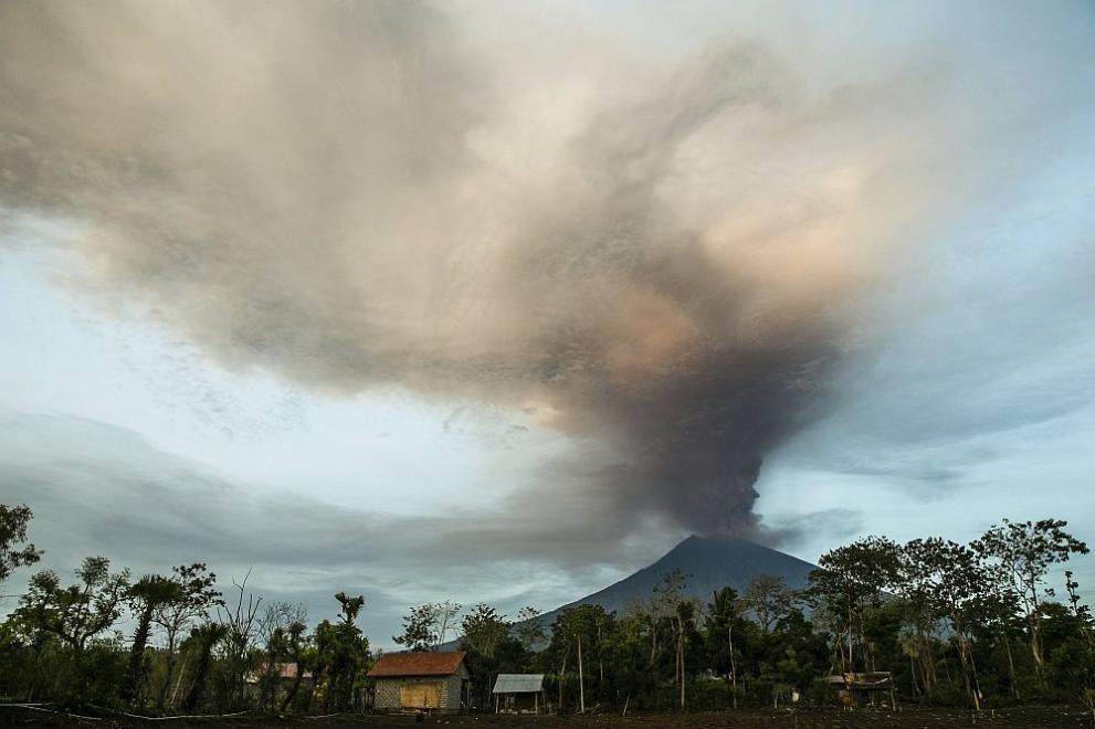 вулкан Бали