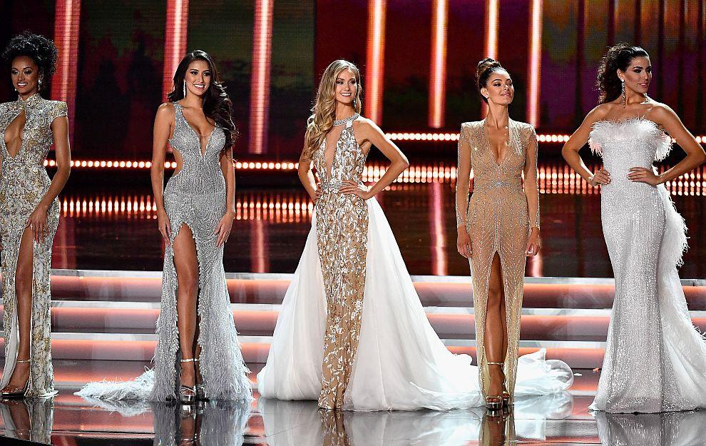 Мис САЩ, Мис Филипини, Мис Канада, Мис Южна Африка и Мис Испания