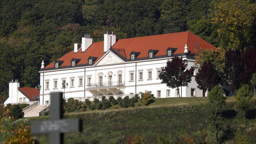 """Имението на Ивица Тодорич, собственикът на скандалната """"Агрокор"""", в Загреб"""