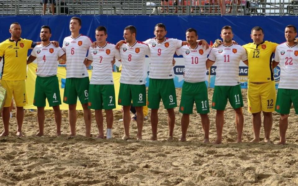 Националите по плажен футбол с ново върхово постижение