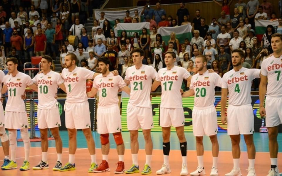 Волейболистите в група с Полша за Световното