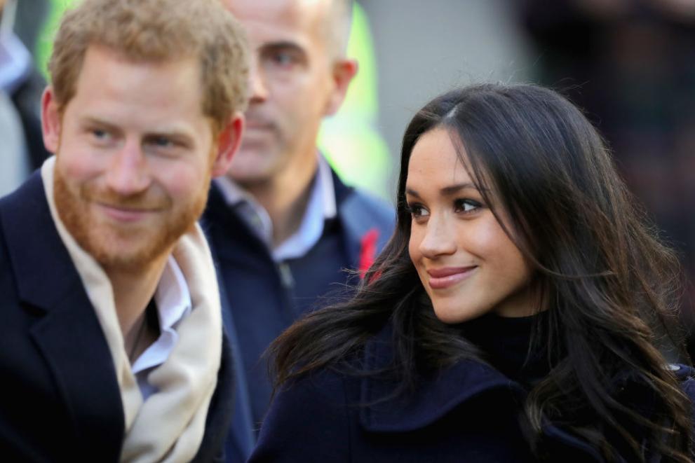 Първа официална проява на Принц Хари и Меган Маркъл