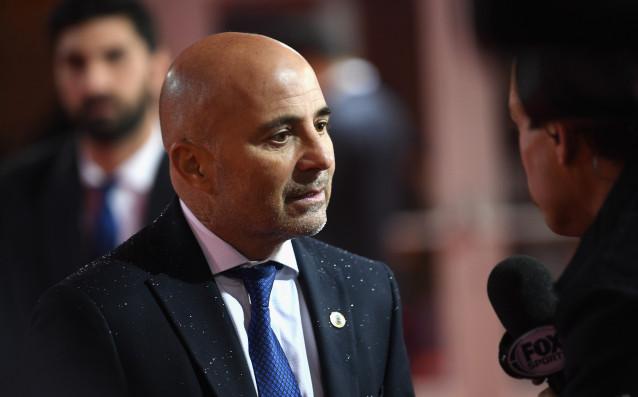 Селекционерът на аржентианския национален отбор Хорхе Сампаоли се забърка в