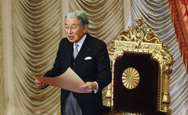 Японският император Акихито ще абдикира през 2019