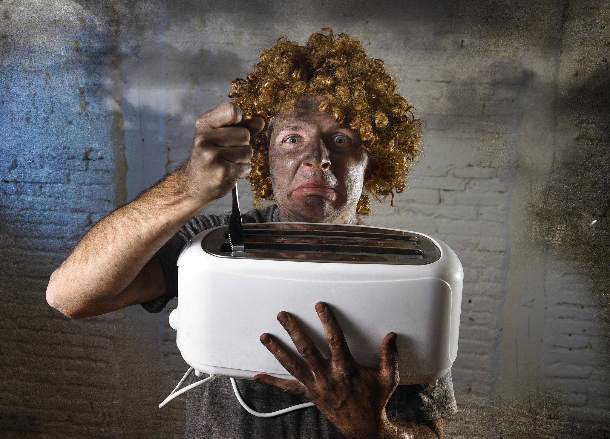 Неработещи електрически уреди.