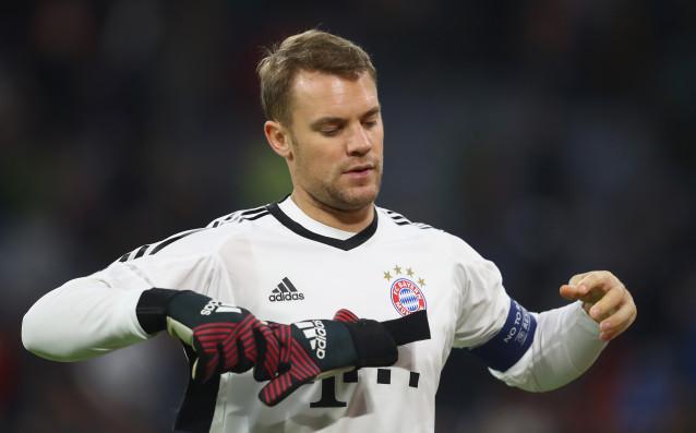 Вратарят на германския национален отбор Мануел Нойер пак ще тренира