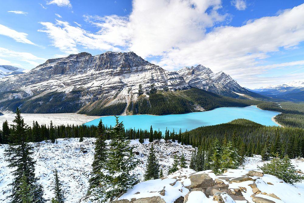 Езерото Пейто в Канада