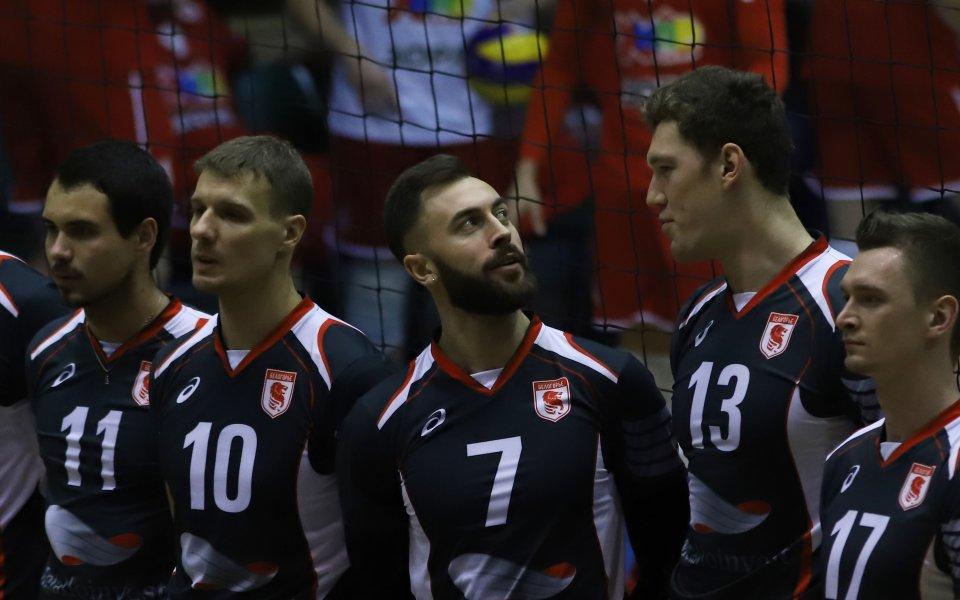 Сблъсъкът между ЦСКА и Белогорие в снимки