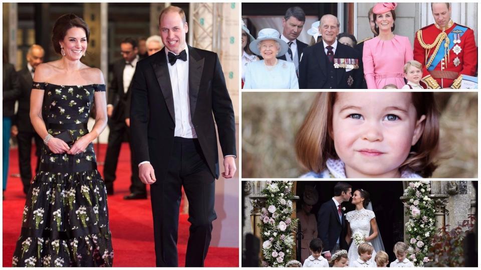 Царствена година - какво се случи в кралското семейство през 2017-та?