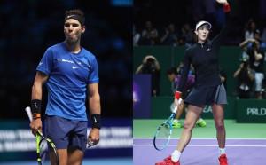 Надал и Мугуруса са световни шампиони за 2017-а на световния тенис