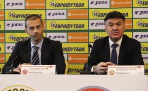 БФС ще получи финансиране от УЕФА на стойност 3 милиона евро